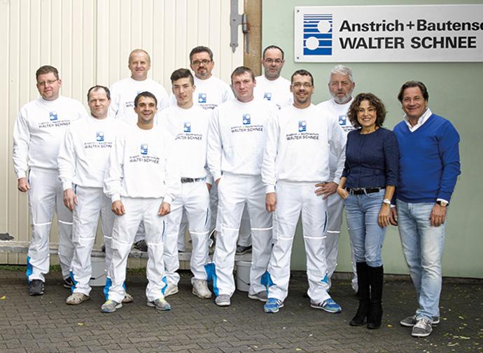 Firma Walter Schnee Anstrich und Bautenschutz in Stuttgart-Plieningen