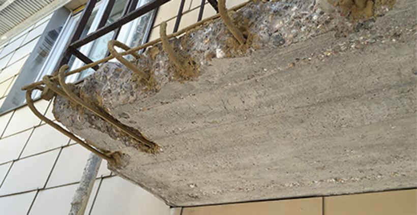 Balkonsanierung, Balkonkomplettsanierung, Walter Schnee Anstrich und Bautenschutz