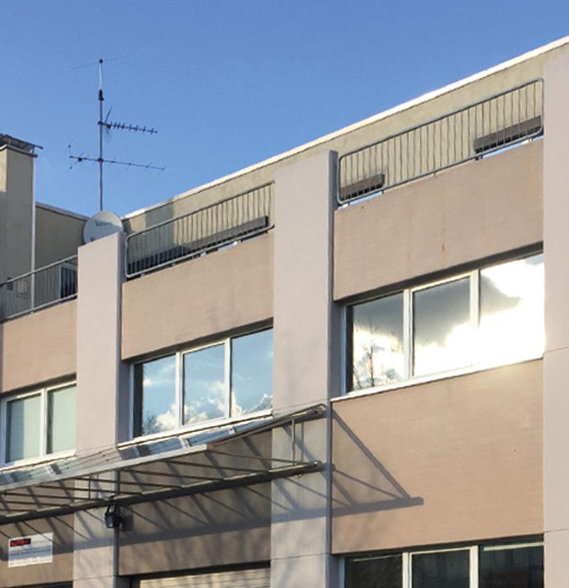 Fassadenrenovierung, Walter Schnee Anstrich und Bautenschutz