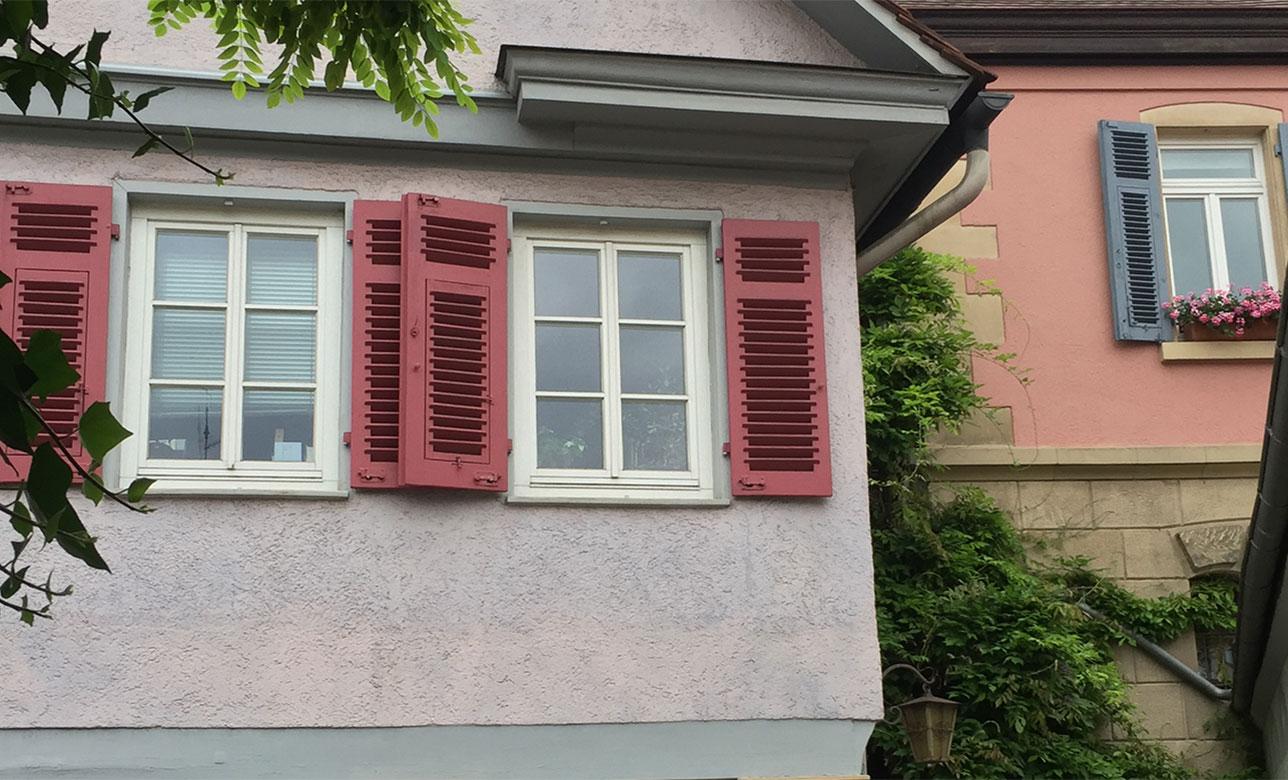 Historische Fassadenrenovierung, Walter Schnee Anstrich und Bautenschutz