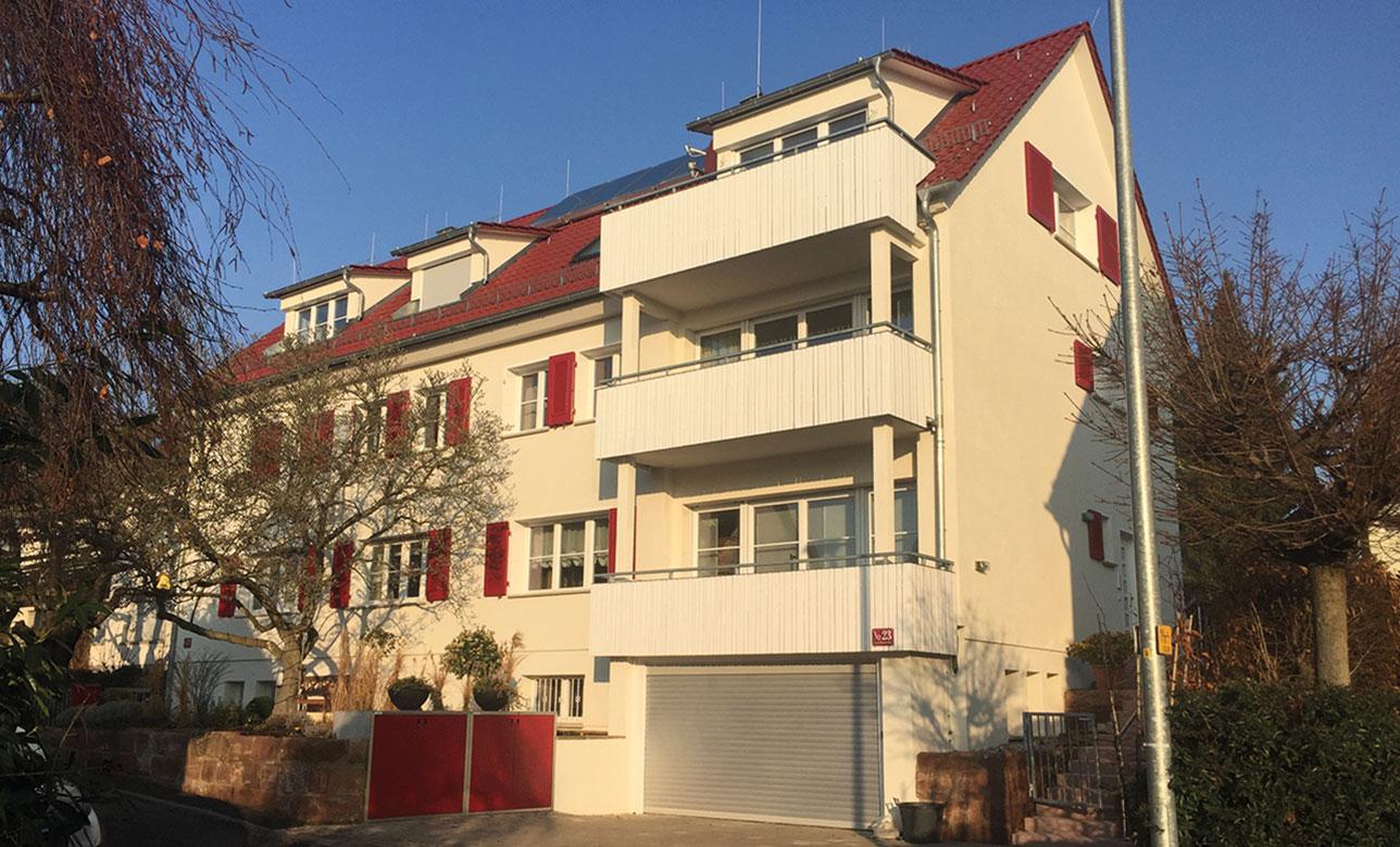 Wärmedämmung Fassade, Wärmedämmverbundsystem, Walter Schnee Anstrich und Bautenschutz