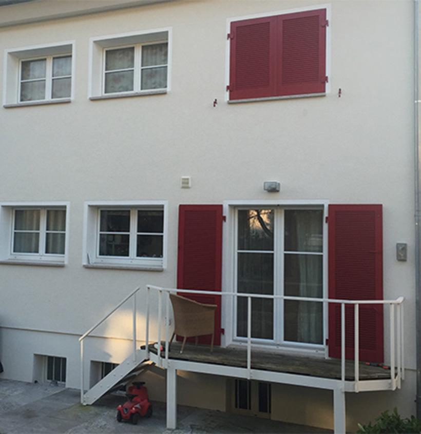 Wärmedämmung, Mineralfaserplattengedämmte Fassade, Walter Schnee Anstrich und Bautenschutz